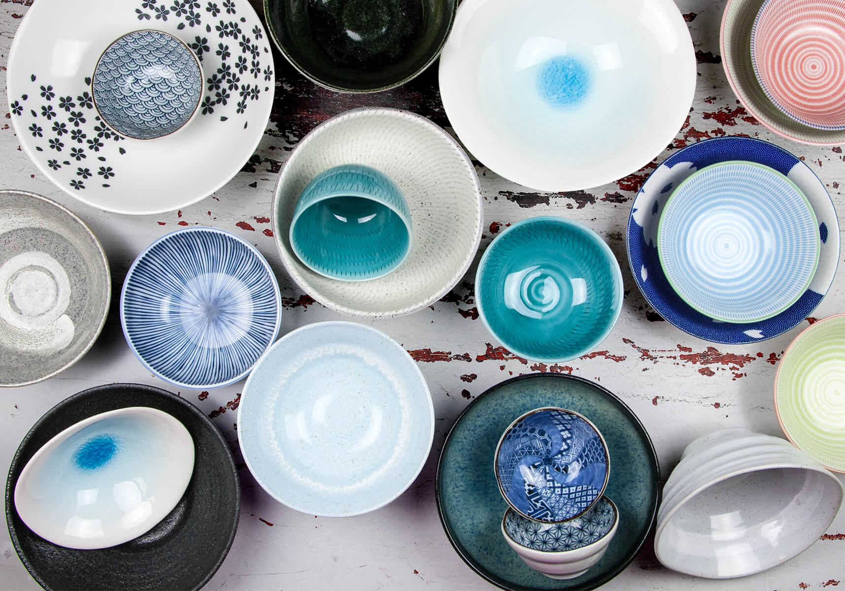 Japanese Plates Bowls Platters Cups Mugs - Made in Japan & About Us - Nendo | Japanese Tableware